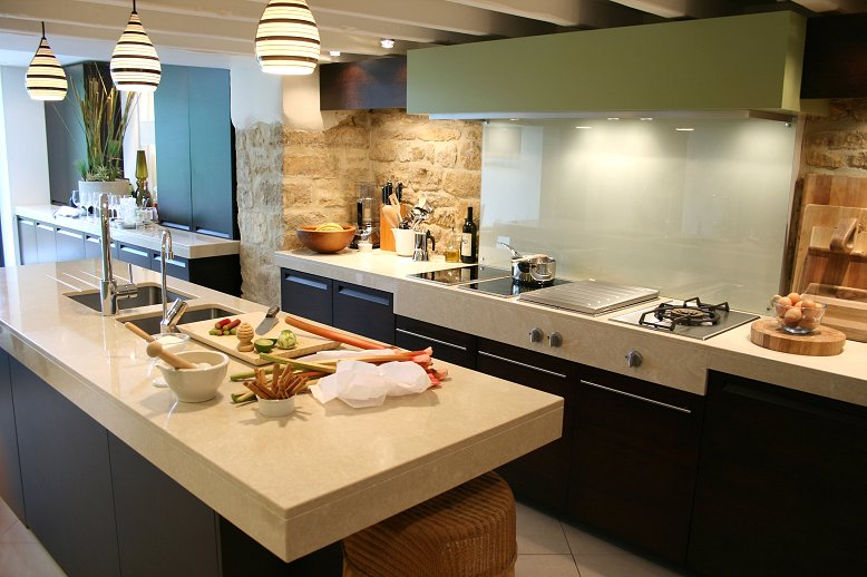 Pedras na decora o papo de design for Interior decoration of kitchen pictures