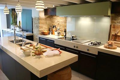 revestimento pedra na cozinha