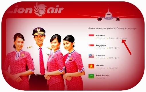 Cara membayar Tiket Pesawat Lion Air di ATM BCA, Untuk Yang Online Ke Web Lion Air Langsung