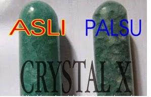 ciri crystal x asli 1