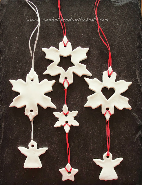 Christmas Mobiles from Sun, Hats & Wellie Boots
