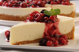 Cheesecake con frutos rojos