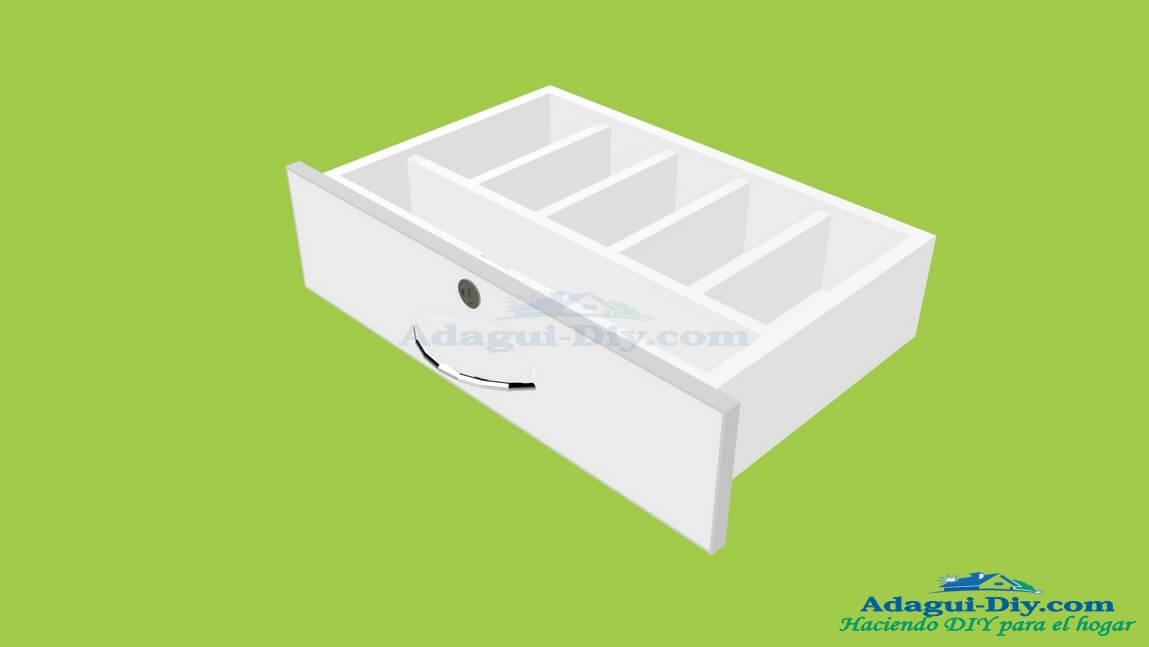 Como instalar una bisagra de cazoleta exterior en puertas de muebles