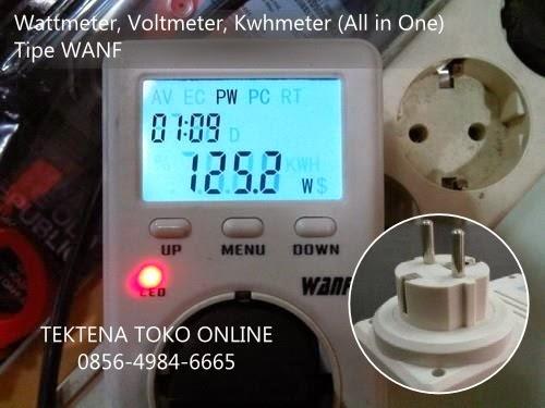 wattmeter, voltmeter, kwh meter, volt meter, ampere meter, kwh meter digital, prinsip kerja wattmeter