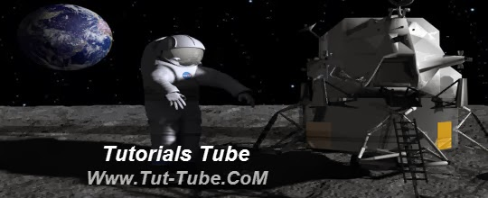 Photoshop CS6 3D Moon Walk Scene