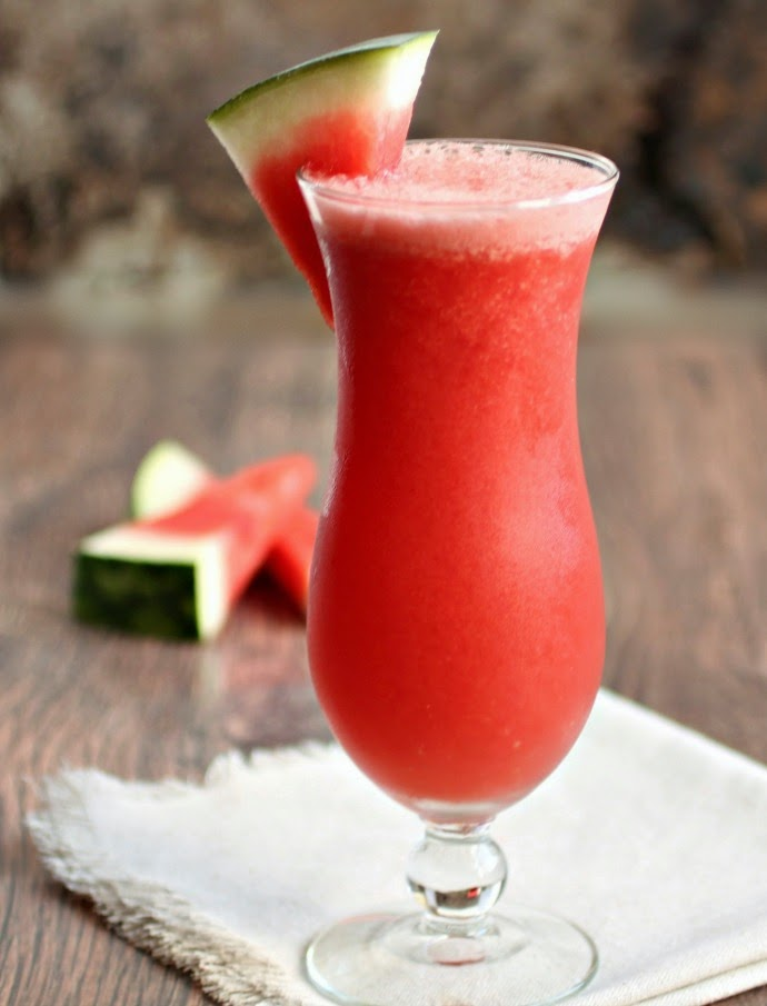 Watermelon Martinis Recipe — Dishmaps