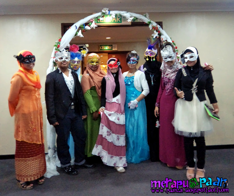Paanzainudin Gita Royal Masquerade Night