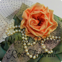 WIRED RIBBON ROSE TUTORIAL