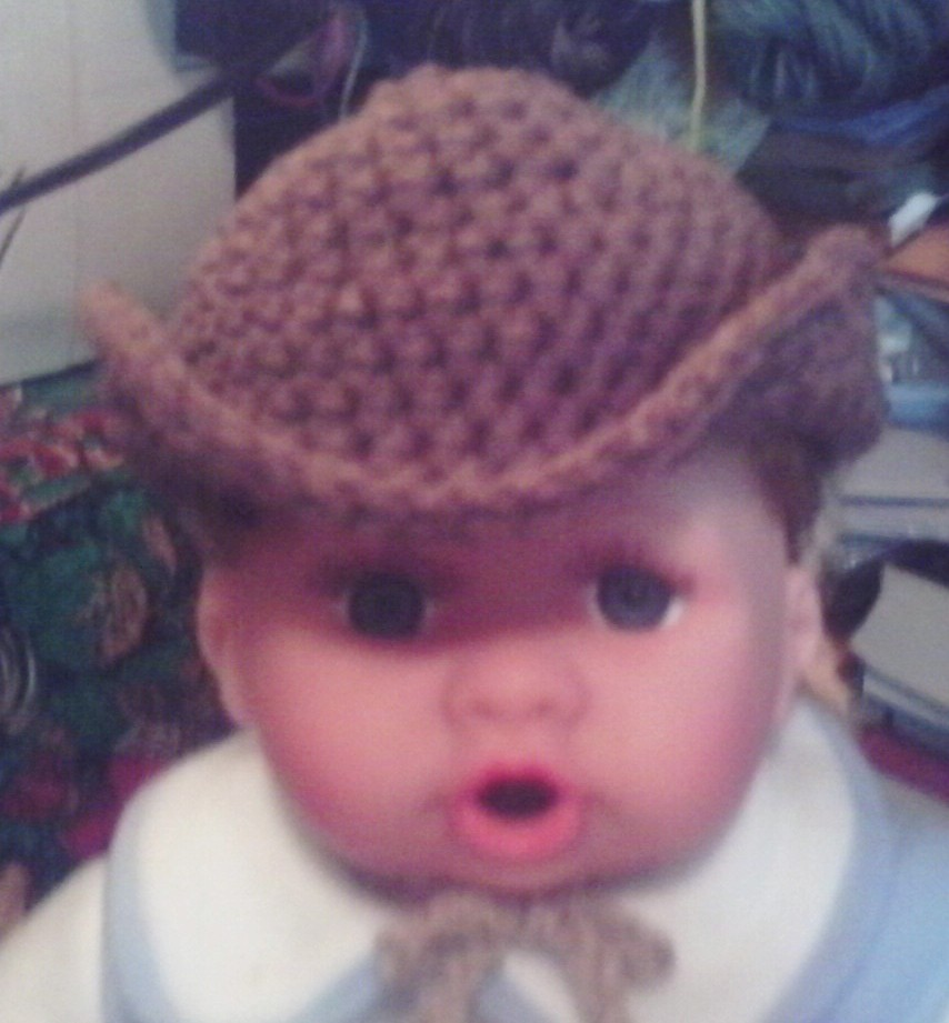 Angie\'s Attic: Baby Cowboy Hat