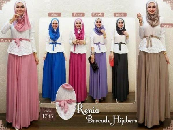 Contoh Baju Muslim Terbaru Koleksi Baju Gamis Muslim Terbaru