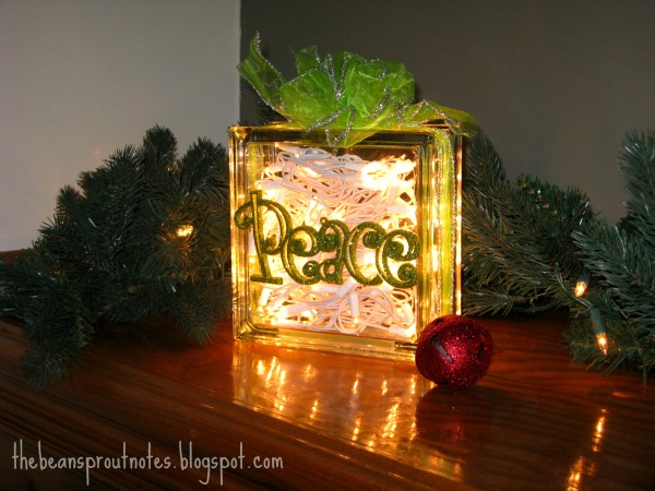 the bean sprout notes glass christmas light gift boxes 2012