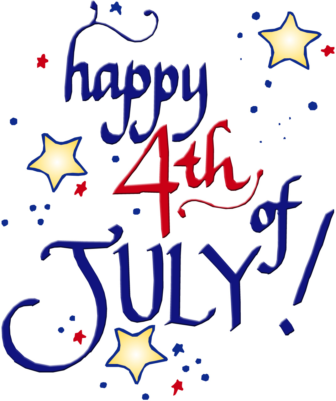 teaching munchkins happy 4th of july some red  white happy 4th of july clip art free happy 4th of july clip art gifs