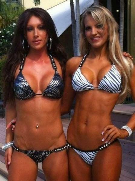 Спортивные девушки. Фото