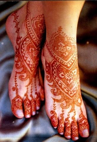 Feet Tattoo Designs on Henna Tattoo Styles Are An Historic Method Of Body Art That Has Been