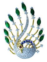 Peacock kada
