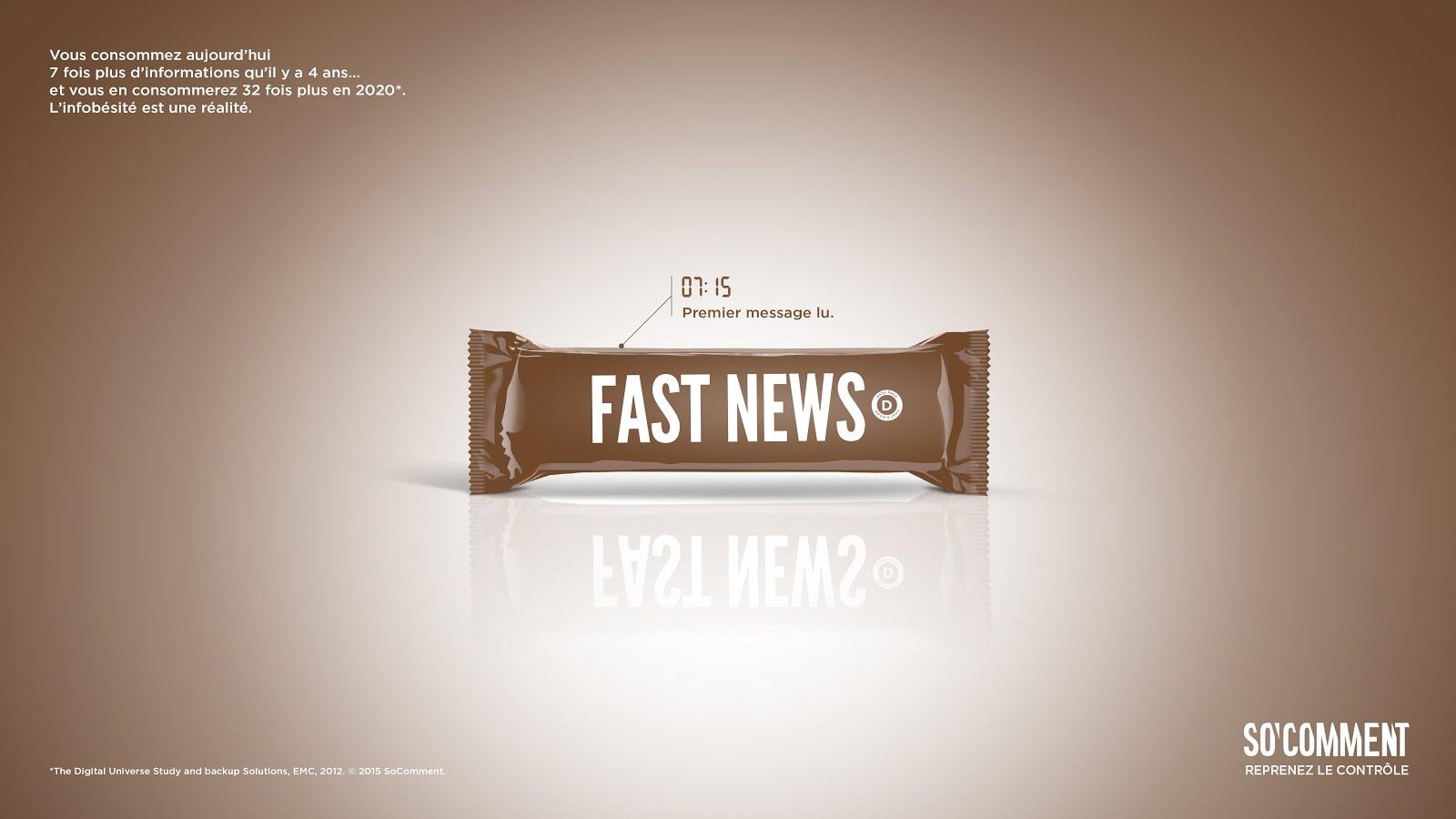07:15 Premier message lu