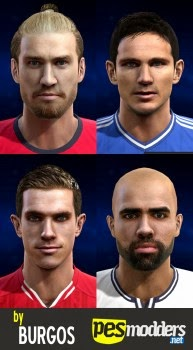 PES 2013 Premier League Facepack by burgos
