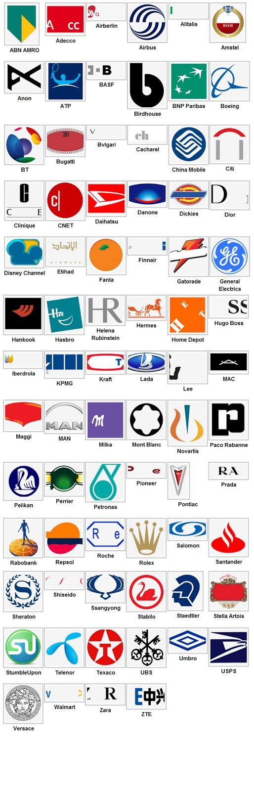 Soluzioni Logo Quiz livello 6 - Logo Quiz risposte livello 6