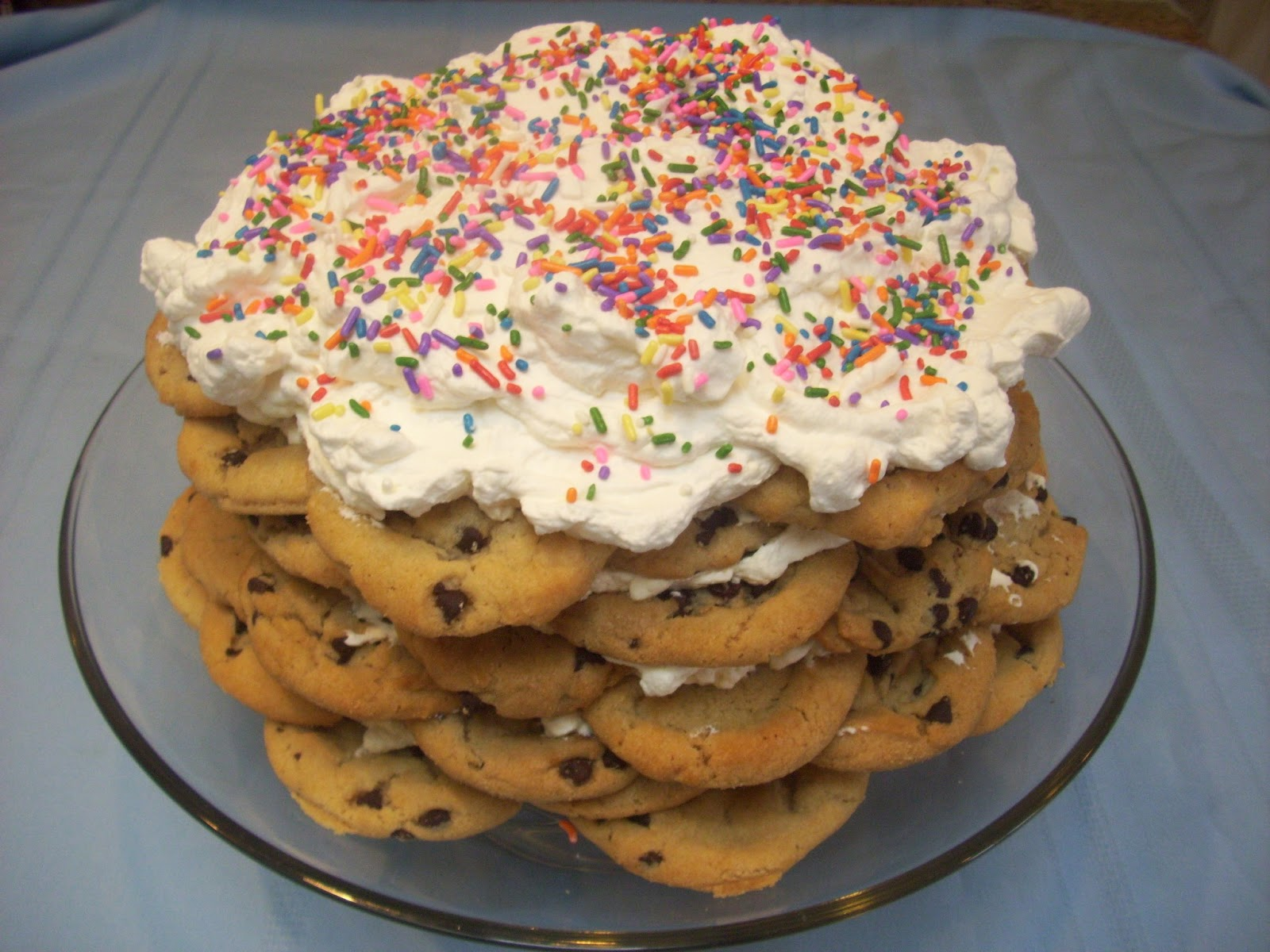 Flavors by Four: Chocolate Chip Cookie Icebox Cake
