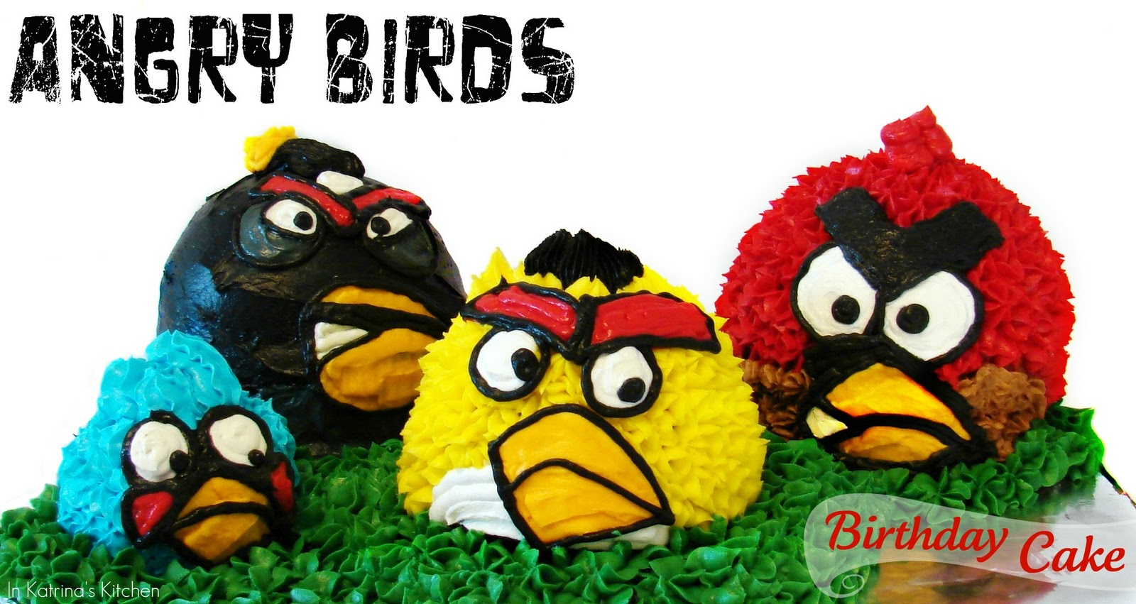 Gâteaux Angry Birds