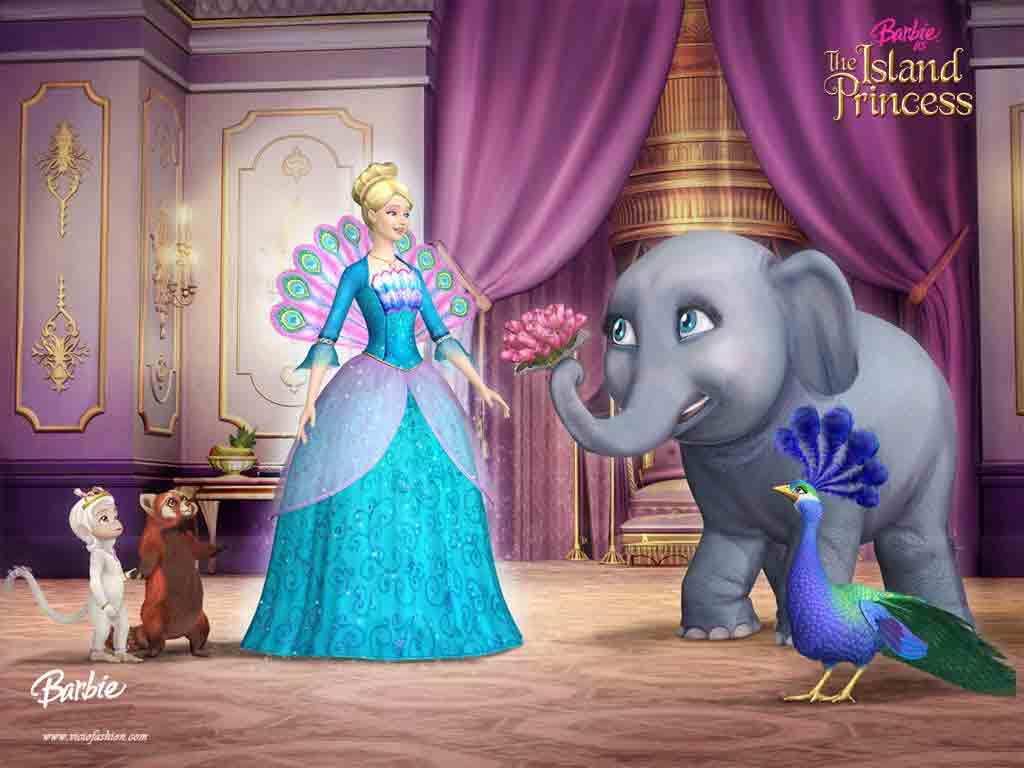 Barbie A Princesa Da Ilha