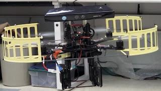 Robot con kinnect rescata victimas de terremotos.