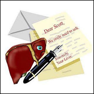 จดหมายจากตับ
