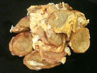 Cocina con Aníbal Patatas revueltas con huevo