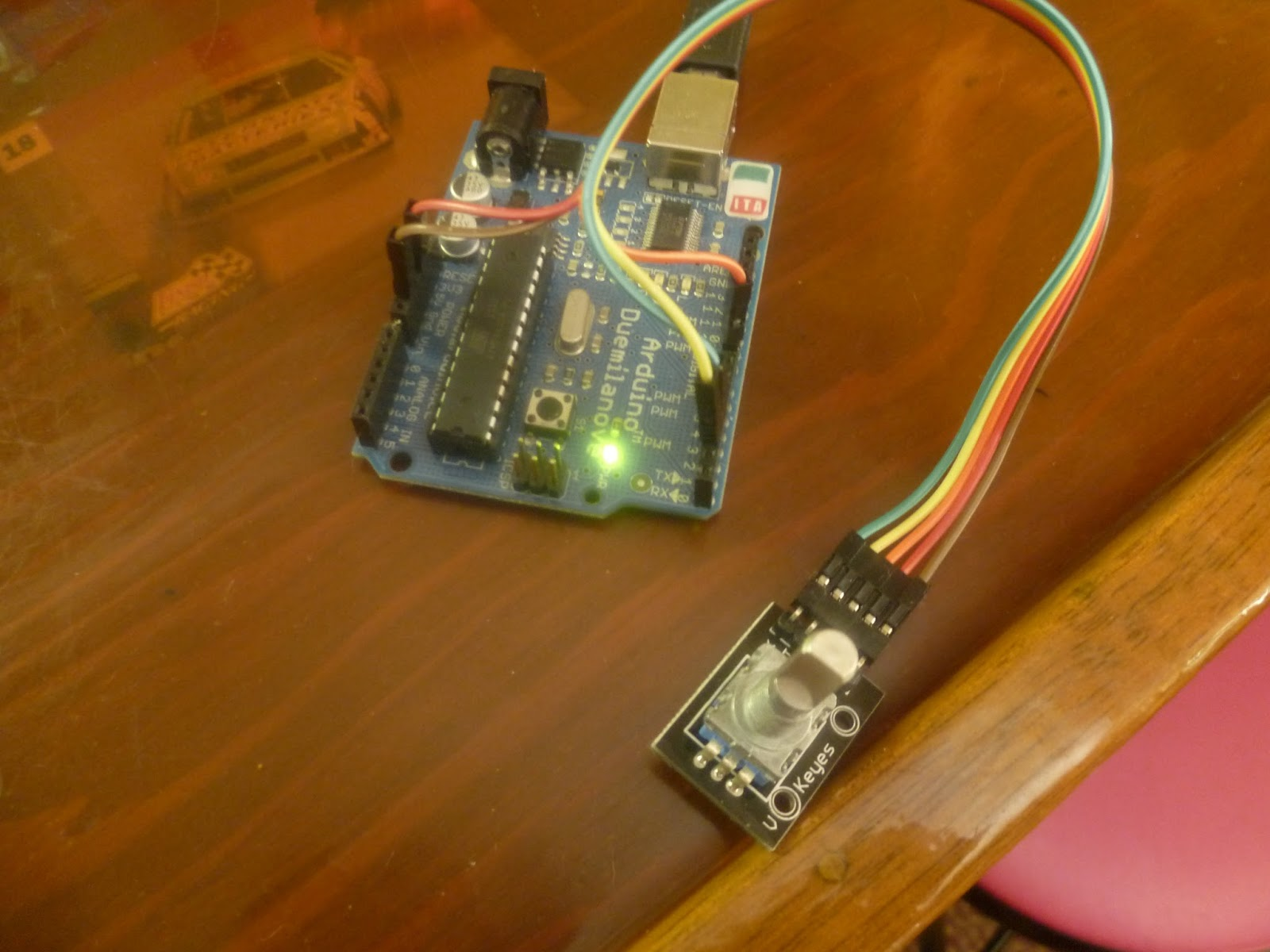 Arduino your home environment using a rotary encoder for Arduino encoder motor control