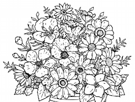 Advanced Printable Christmas Coloring Pages