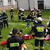 Pożar stolarni w SOSW Frysztak