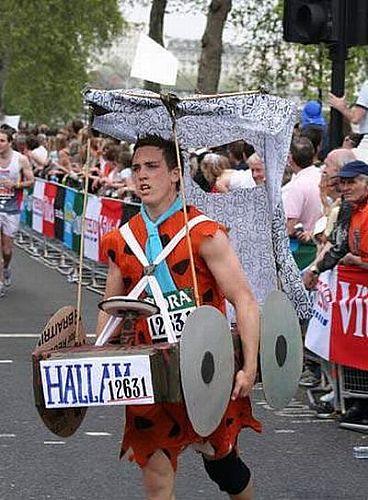 Funny Marathon Race