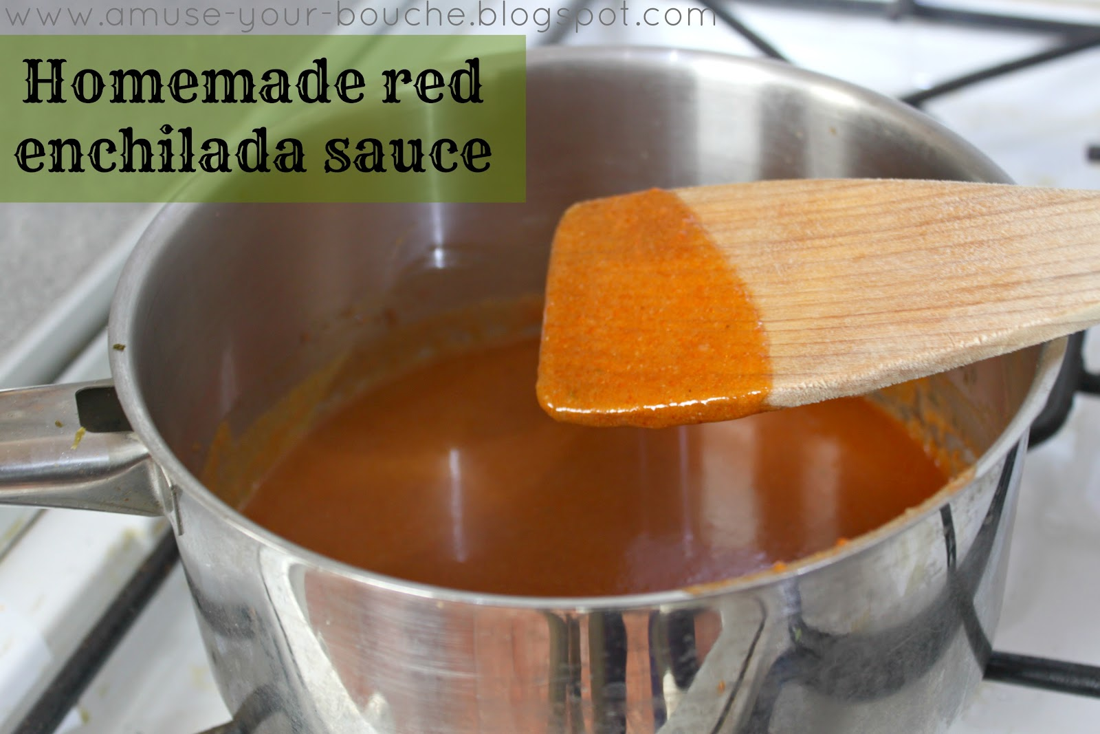 how to make red enchilada sauce