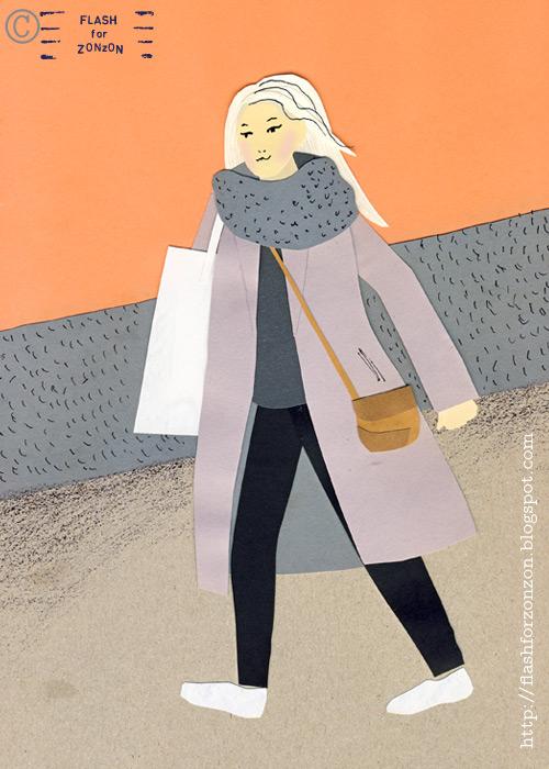 Street Style Helsinki. Monochrmatic Outfit.