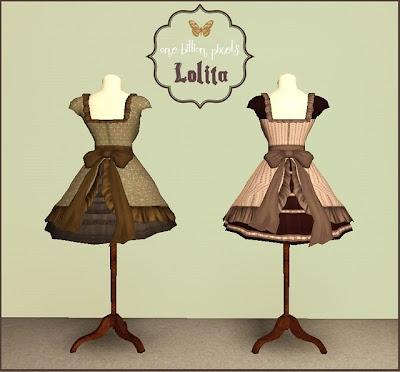 Pocci's Lolita Dress Mannequins Retextures by NewOne OBP+Lolita+Dress+Mannequins+Back