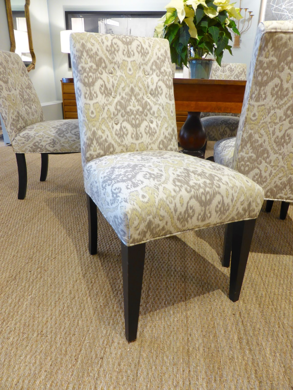Mitchell Gold Parsons Chairs