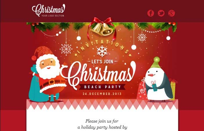 Christmas – Responsive Email Template