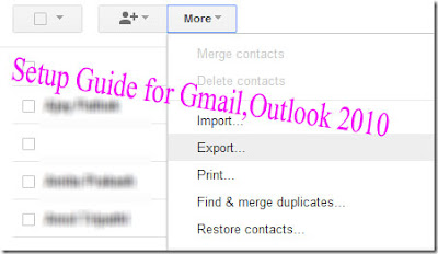 Computer Tips: Setup Guide for Gmail,Outlook 2010,Ultimate Setup Guide