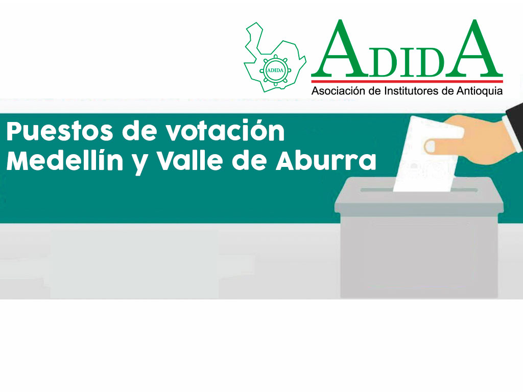 Puestos de Votación Medellín y Valle de Aburra