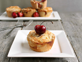 Mini Cherry Muffin Cup Pies