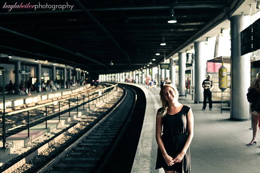 train stations paris photo