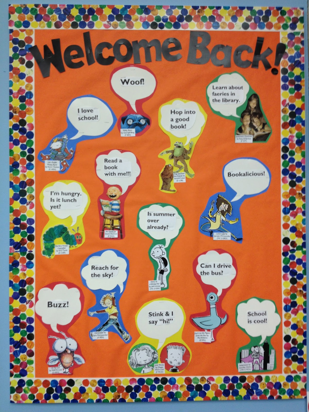 Welcome Back on March Bulletin Boards Ideas For Hospital