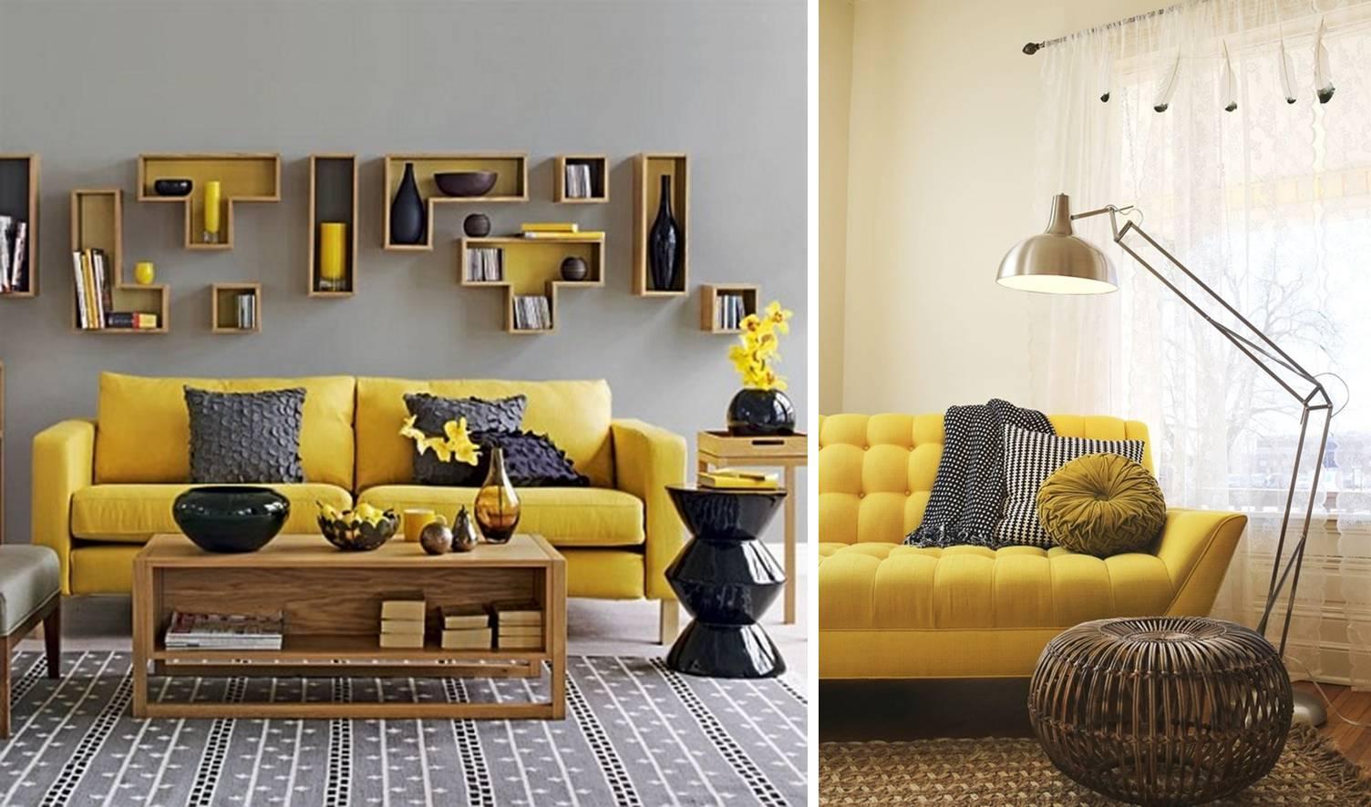 Fate home relookers giallo sole e grigio metropolitano - Camera da letto gialla ...