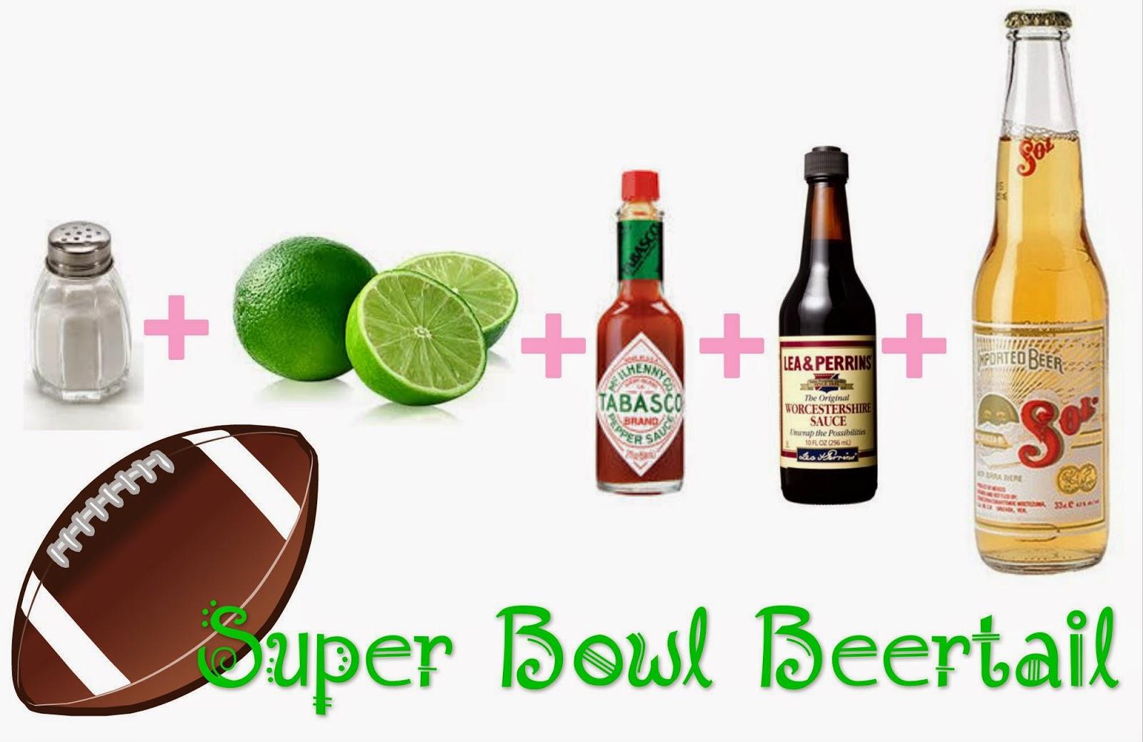 super bowl beertail recipe michelada
