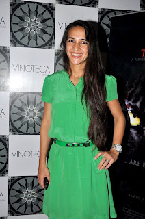 Jaaved Jaaferi,Aditi Rao Hydari and other at 'The Forest' Success party