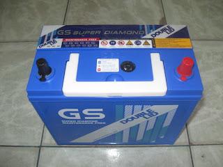 แบตเตอรี่ GS D60L-DL (DOUBLE-LID)