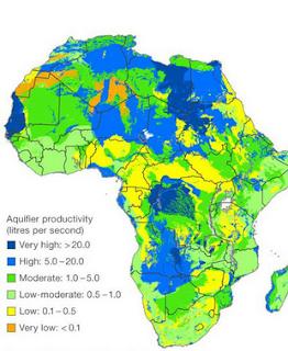 Luas, Iklim, Batas Batas dan Karakteristik Benua AFRIKA
