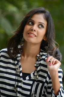 Actress Chandini Latest Pictures in Jeans at Kiraak Release Date Announcement Press Meet 0026