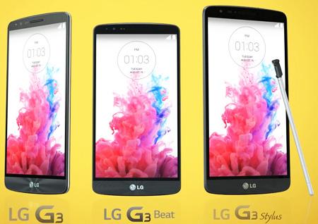 Svelate le presunte caratteristiche hardware del LG G3 Stylus