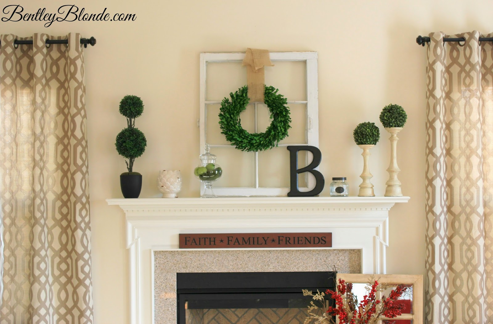 Bentleyblonde Spring Mantle Decorations Amp Kirklands